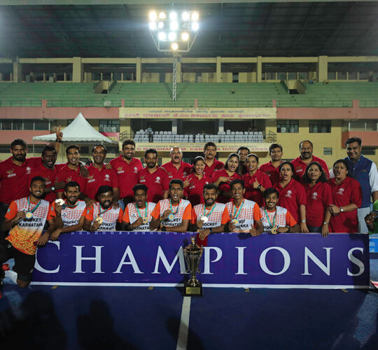 HK Winners 3rd Hockey India 5 A side Senior National Championship 2018-Men