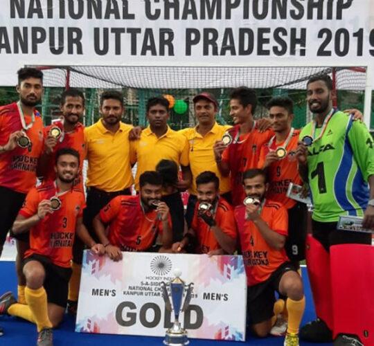 HK Winners 4th Hockey India 5 A Side Senior National Championship 2018-Men